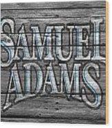Samuel Adams Wood Print