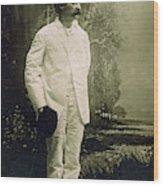 Samuel Langhorne Clemens (1835-1910) Wood Print