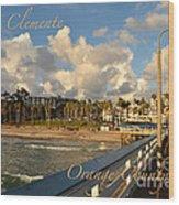San Clemente Wood Print