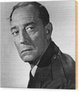 San Diego, I Love You, Buster Keaton Wood Print