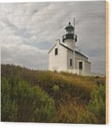 San Diego Lighthouse Wood Print