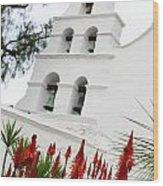 San Diego Mission Wood Print