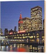San Francisco Ferry Terminal - California, Usa Wood Print