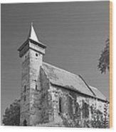 Santimbru Reformed Church Wood Print