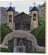 Santuario De Chimayo Wood Print
