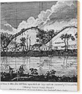 Saratoga: Encampment, 1777 Wood Print