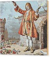 Scene From Gullivers Travels 1 Wood Print