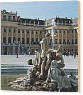 Schoenbrunn Palace In Vienna - Austria Wood Print