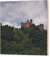 Schonburg Oberwesel Am Rhein Wood Print