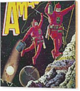 Science Fiction Cover 1929 Wood Print