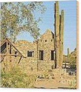 Scorpion Gulch Phoenix Arizona Wood Print