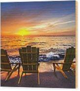 Sea Dreams II Wood Print
