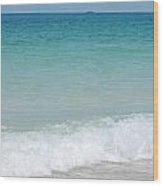 Sea Of Blue Wood Print