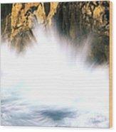 Sea Stacks Wood Print by Art Wolfe