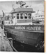 Seattle Fisherman Wharf Wood Print
