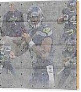 Seattle Seahawks Team Wood Print