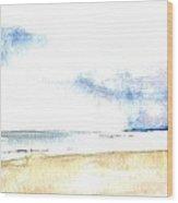 Seaview Wood Print