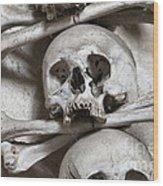 Sedlec Ossuary - Charnel-house Wood Print