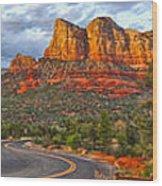 Sedona Arizona Panorama Wood Print