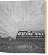 See Rock City - Farm In Tennessee Wood Print