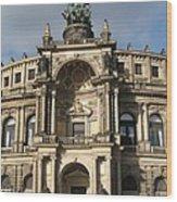 Semper Opera Dresden Germany Wood Print