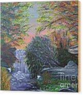 September Reverie Wood Print by Alys Caviness-Gober