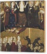 Serra, Jaume 1358-1397. Altarpiece Wood Print