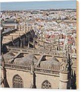 Seville Cityscape Wood Print