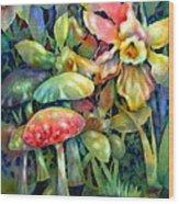 Shadowland Wood Print