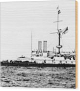 Ships Hms 'victoria Wood Print