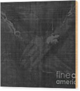 Shroud Of Turin- Jesus' Hands Wood Print