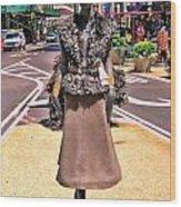 Sidewalk Catwalk 12 Wood Print