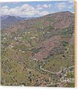 Sierra De Almijara Hills Wood Print