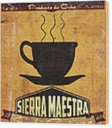 Sierra Maestra Cuban Coffee Wood Print