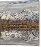 Sierra Reflections Wood Print
