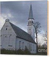Sigulda Church Wood Print