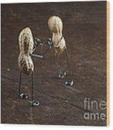 Simple Things - Apart Wood Print