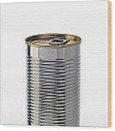 Simple Tin Can Wood Print