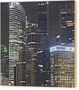 Singapore Wood Print