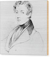 Sir Charles Wheatstone (1802-1875) Wood Print