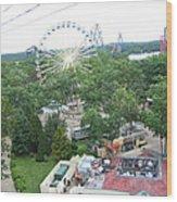 Six Flags Great Adventure - 12125 Wood Print