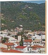 Skiathos Island Greece Wood Print