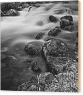 Slow Creek Wood Print