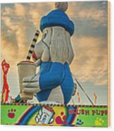 Slush Puppie Wood Print