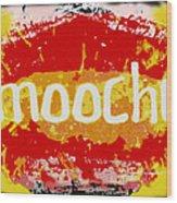 Smooches Wood Print
