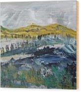Snelling Hills Wood Print