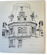 Sobanski Palace Wood Print