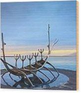 Solfar Sun Voyager Wood Print