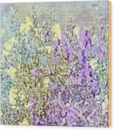 Sommer Meadow Wood Print