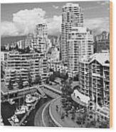 South Vancouver Bc Canada Wood Print